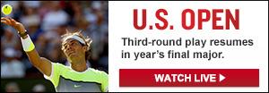 Watch Live: U.S. Open Tennis