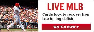 Watch Live: Nationals vs. Cardinals