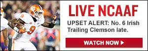 Watch Live: Notre Dame vs. Clemson