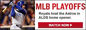 Watch Live: Royals vs. Astros