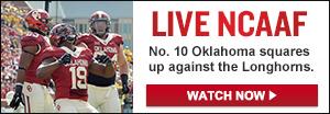 Watch Live: Texas vs. Oklahoma